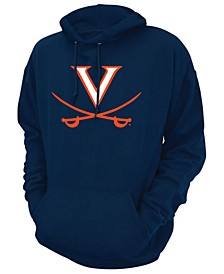 Men's Virginia Cavaliers Screenprint Big Logo Hooded Sweatshirt