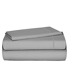 4-Piece Sheet Set with Cell Phone Pocket on Each Side, Twin XL