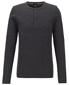 BOSS Men's Trix Slim-Fit Henley T-Shirt