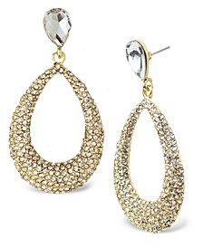 Accessories Teardrop Stone Statement Earrings