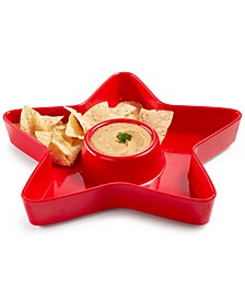 Americana Melamine Chip & Dip Bowl, Created for Macy's