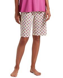 Balancing Act Bermuda Pajama Shorts