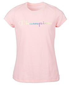 Big Girls Ombré Logo T-Shirt