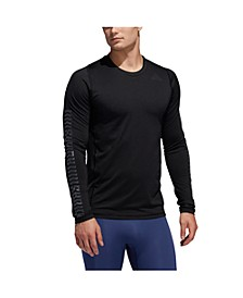 Men's Alphaskin Graphic Fitted Long Sleeve Tee