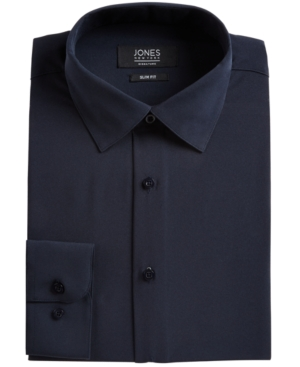 Men's Slim-Fit Stretch Cooling Tech Dress Shirt