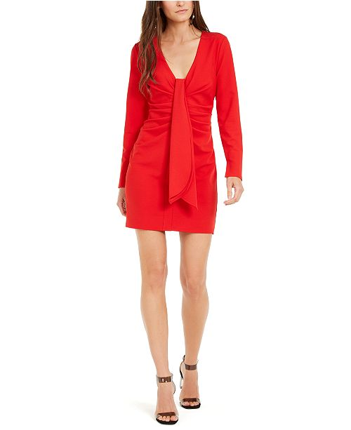 INC International Concepts INC Drape-Front Sheath Dress, Created For Macy's