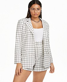 Plus Size Structured Blazer, Created for Macy's
