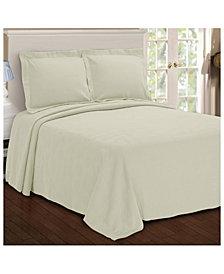 Superior Paisley Jacquard Matelasse 2 Piece Bedspread Set, Twin