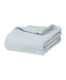 Superior Chevron Woven All Season Blanket, Twin