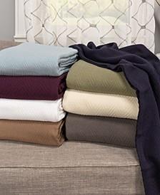 Chevron Woven All Season Blanket Collection