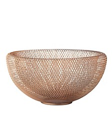Double Mesh Bowl Large - Gold
