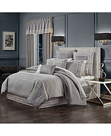 J Queen Giselle  California King 4 Piece Comforter Set