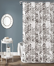 "Botanical Garden 72"" x 72"" Shower Curtain"