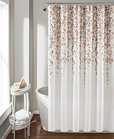 "Weeping Flower 72""x 72"" Shower Curtain"