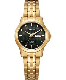 Women's Quartz Gold-Tone Stainless Steel Bracelet Watch 27mm