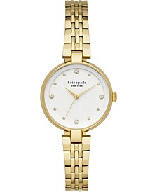 Women's Annadale Gold-Tone Stainless Steel Bracelet Watch 30mm