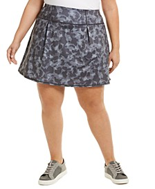 Plus Size Camo Skort, Created for Macy's