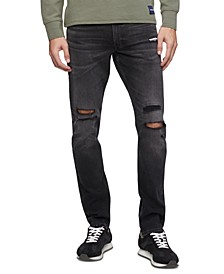 Men's Slim-Fit Stretch Destroyed Jeans