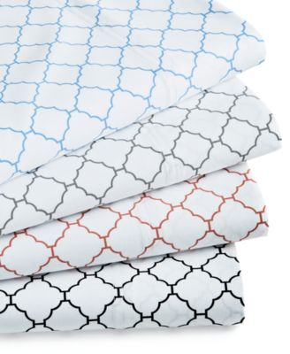 Arabesque Geo King Pillowcases, 550-Thread Count Supima Cotton Created for Macy's
