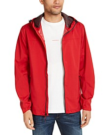 Men's All-Season Lightweight Stretch Hooded Rain Jacket