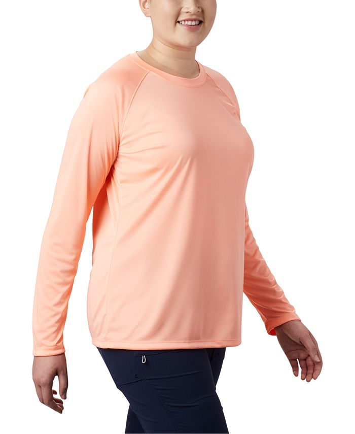 Columbia - Plus Size Long-Sleeve SPF Top
