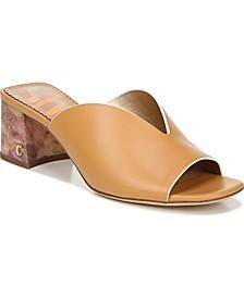Fairmont Block-Heel Mules