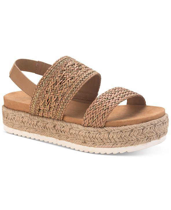Sun + Stone Karli Flatform Sandals, Created for Macy's