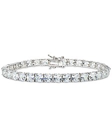 Cubic Zirconia Tennis Bracelet in Sterling Silver