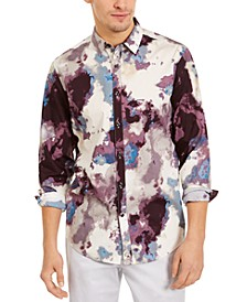INC Men's Dayne Paint Splotch Shirt