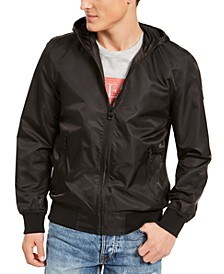 Men's Lightweight Hooded Bomber Jacket