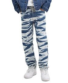 Men's 541 Athletic-Fit Patterned Jeans