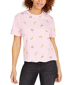 Juniors' Bananas Graphic T-Shirt