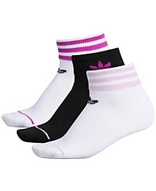 3-Pk. Low-Cut Sock