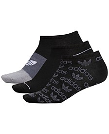 3-Pk. Graphic No-Show Socks