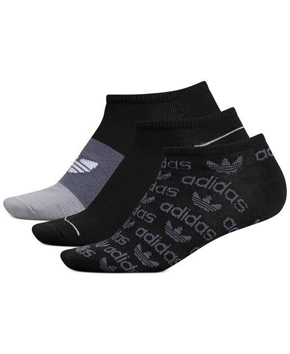 adidas 3-Pk. Graphic No-Show Women's Socks