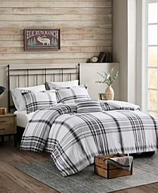 Hawkeye Plaid 4-Piece Full/Queen Comforter Set