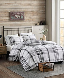 Woolrich Hawkeye Plaid 4-Piece Full/Queen Comforter Set