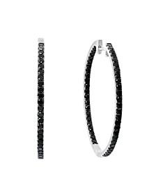 Black Diamond (2 1/5 ct. t.w.) Earring in 14K White Gold