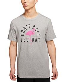 Men's Dri-FIT Training Flamingo Leg Day T-Shirt