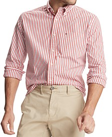 Men's May Classic-Fit Stretch Plaid Shirt