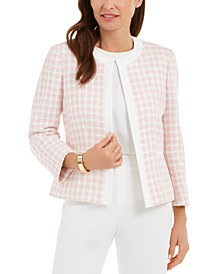Petite Checked Jacket
