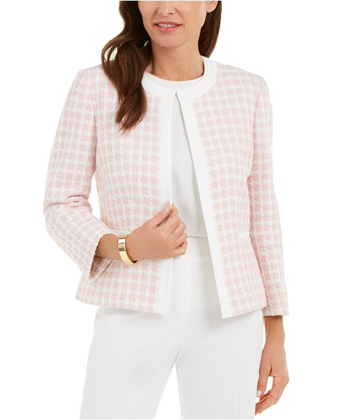 Kasper Checkered Jacket