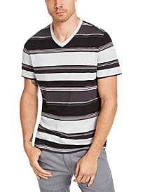 INC Men's Marcus Striped T-Shirt, Created for Macy's