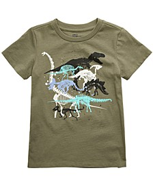 Little Boys Dino T-Shirt, Created for Macy's