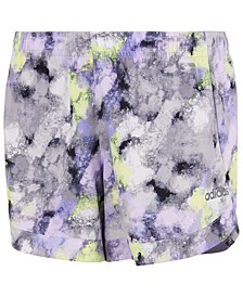 Little Girls Printed Shorts