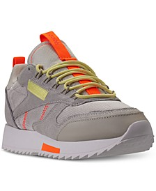 Women's Classic Leather Ripple Trail Sneakers from Finish Line