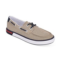 Deals on Tommy Hilfiger Mens Realm II Boat Shoes