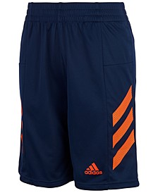 Little Boys AEROREADY Pro Sport 3-Stripe Mesh Shorts