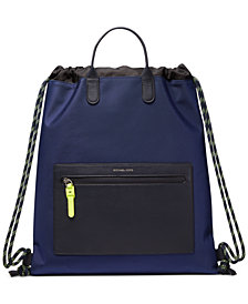 Michael Kors Men's Brooklyn Drawstring Backpack