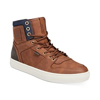 Deals on Levis Mens Mason Lux High-Top Sneakers
